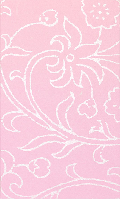桜草唐草 ピンク